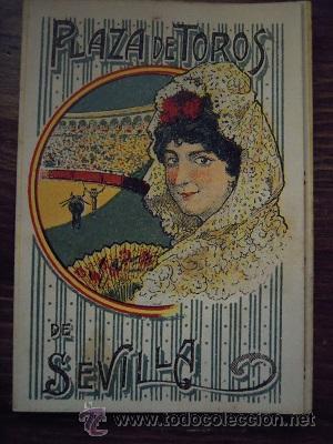 Tauromaquia: Colección de 25 programas de mano de la temporada 1914 de la Plaza de Toros de Sevilla. - Foto 24 - 47780997