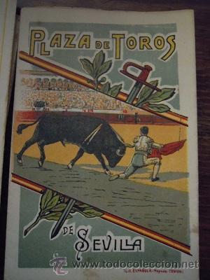 Tauromaquia: Colección de 25 programas de mano de la temporada 1914 de la Plaza de Toros de Sevilla. - Foto 28 - 47780997