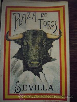 Tauromaquia: Colección de 25 programas de mano de la temporada 1914 de la Plaza de Toros de Sevilla. - Foto 30 - 47780997