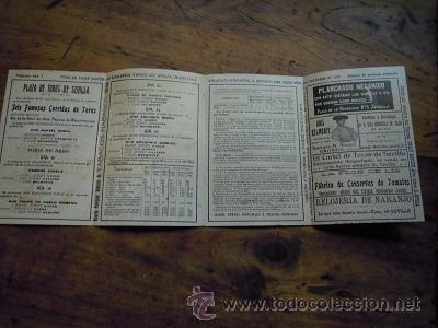 Tauromaquia: Colección de 25 programas de mano de la temporada 1914 de la Plaza de Toros de Sevilla. - Foto 31 - 47780997