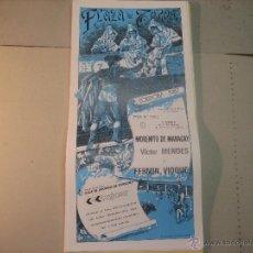 Tauromaquia: CARTEL PLAZA DE TOROS DE CODOBA.- 24 MAYO 1987.-MORENITO DE MARACAY, MENDEZ Y FERMIN VIOQUE . Lote 47949461