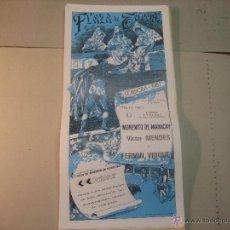 Tauromaquia: CARTEL PLAZA DE TOROS DE CODOBA.- 24 MAYO 1987.-MORENITO DE MARACAY, MENDEZ Y FERMIN VIOQUE . Lote 47949471