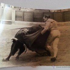 Tauromaquia: ANTIGUA FOTOGRAFIA CORRIDA DE TOROS , DESCONOZCO TORERO - ORIGINAL AÑOS 50 FOTO LOS ANGELES. Lote 48409526