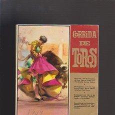 Tauromaquia: CORRIDA DE TOROS - CARTEL CORRIDA MUERTE MANOLETE - ED. LAMINOGRAF 1967 / ILUSTRADO FOTOS. Lote 48476261