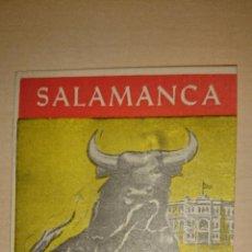 Tauromaquia: 1966 - CUATRIPTICO - TOROS - FERIAS DE SALAMANCA - FINCAS LLANTADA. Lote 48590631