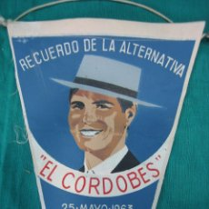 Tauromaquia: ALTERNATIVA DE MANUEL BENITEZ EL CORDOBES 1963. Lote 48624312