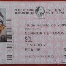 Tauromaquia: ENTRADA PLAZA DE TOROS DE BILBAO. Lote 49078081