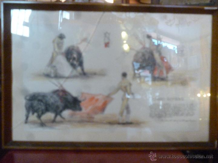 Tauromaquia: PLUMILLA TAURINA A COLOR DE ALFREDO MARTOS - Foto 2 - 49570698