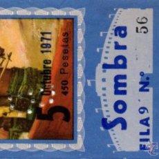 Tauromaquia: ZAFRA,BADAJOZ,1971, ENTRADA DE TOROS,PACO CAMINO,PAQUIRRI,DAMASO GONZALEZ. Lote 49748338