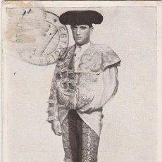 Tauromaquia: TAUROMAQUIA - TARJETA POSTAL DEL TORERO CÁSTOR JAUREGUIBEITIA IBARRA, COCHERITO DE BILBAO. Lote 50182374
