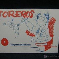 Tauromaquia: TARJETAS POSTALES TOREROS POR DA VILA 1 TARJETOCARICATURAS 10,5X15CMS. Lote 50301942