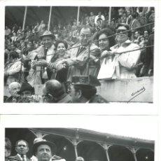 Tauromaquia: LOTE DE 6 FOTOGRAFIAS DE - ALGUNOS AMIGOS EN LA CORRIDA DE PACO CAMINO FOTOS CUEVAS MADRID. Lote 50900563