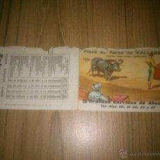 Tauromaquia: PLAZA DE TOROS DE VALLADOLID FERIA 1964. Lote 51212775