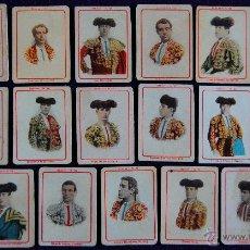 Tauromaquia: 19 CROMOS-FOTOTIPIAS DE CAJAS DE CERILLAS. TOREROS. SERIE 12. AÑOS 20. FOSFORERA ESPAÑOLA. (TAURINO). Lote 51772960