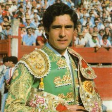 Tauromaquia: SEVILLA , CARTEL FERIA DE SEVILLA 1986, JOSE ANTONIO CAMPUZANO, 105X150 MM. Lote 51941669