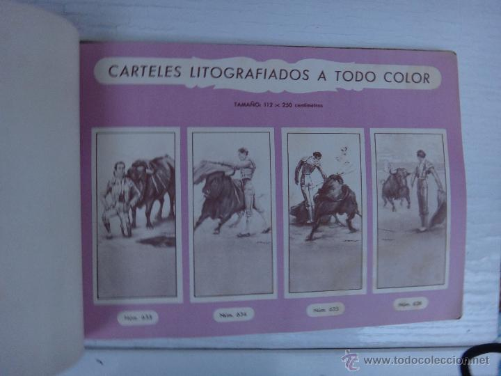 Tauromaquia: CATALOGO TOROS, IMPRENTA ORTEGA 1955 , PROPAGANDA TAURINA, CARTELITOS,PROSPECTOS, ENTRADAS ,ORIGINAL - Foto 3 - 52371538