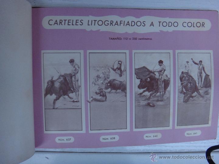 Tauromaquia: CATALOGO TOROS, IMPRENTA ORTEGA 1955 , PROPAGANDA TAURINA, CARTELITOS,PROSPECTOS, ENTRADAS ,ORIGINAL - Foto 4 - 52371538