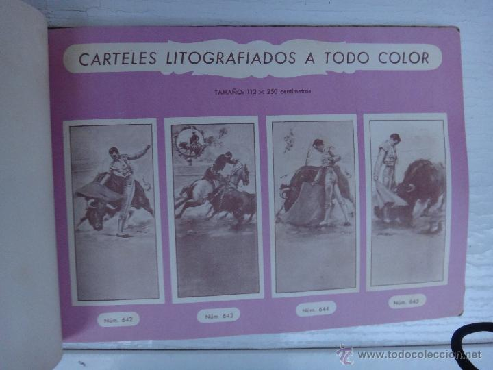 Tauromaquia: CATALOGO TOROS, IMPRENTA ORTEGA 1955 , PROPAGANDA TAURINA, CARTELITOS,PROSPECTOS, ENTRADAS ,ORIGINAL - Foto 5 - 52371538