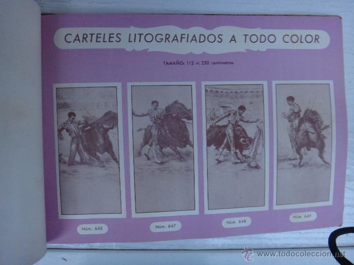 Tauromaquia: CATALOGO TOROS, IMPRENTA ORTEGA 1955 , PROPAGANDA TAURINA, CARTELITOS,PROSPECTOS, ENTRADAS ,ORIGINAL - Foto 6 - 52371538