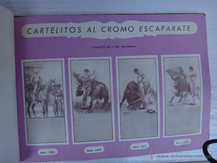 Tauromaquia: CATALOGO TOROS, IMPRENTA ORTEGA 1955 , PROPAGANDA TAURINA, CARTELITOS,PROSPECTOS, ENTRADAS ,ORIGINAL - Foto 7 - 52371538