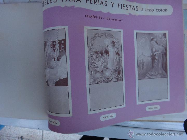 Tauromaquia: CATALOGO TOROS, IMPRENTA ORTEGA 1955 , PROPAGANDA TAURINA, CARTELITOS,PROSPECTOS, ENTRADAS ,ORIGINAL - Foto 26 - 52371538