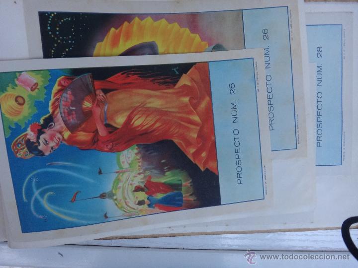 Tauromaquia: CATALOGO TOROS, IMPRENTA ORTEGA 1955 , PROPAGANDA TAURINA, CARTELITOS,PROSPECTOS, ENTRADAS ,ORIGINAL - Foto 27 - 52371538