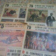 Tauromaquia - 75 AÑOS DE TOROS A TRAVES DE ABC. FASCICULOS 1,3,4,14. - 52472195