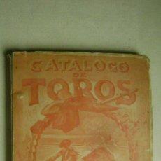 Tauromaquia: CATALOGO DE TOROS .JOSE ORTEGA.CALLE RUZAFA 45.VALENCIA.AÑO 1926.L-666. Lote 54104337