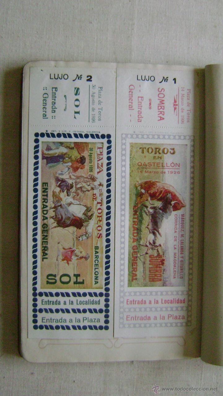 Tauromaquia: CATALOGO DE TOROS .JOSE ORTEGA.CALLE RUZAFA 45.VALENCIA.AÑO 1926.L-666 - Foto 5 - 54104337