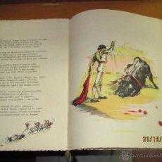 Tauromaquia: LA FIESTA DU SANG DE ANDRÉ MONTAGARD E ILUSTRADO POR HENRY COUVE - AÑO 1955. Lote 53571040