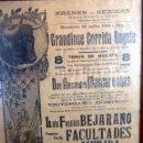 Tauromaquia: EXCEPCIONAL CARTEL DE TOROS DE FRANCIA BEZIERS 1930. Lote 53839929