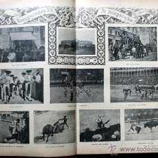 Tauromaquia: 1899 - TOROS - FIESTA NACIONAL - TAUROMAQUIA - MUCHAS FOTOGRAFIAS - TOREROS. Lote 54003837