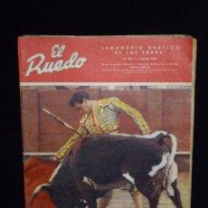 Tauromaquia: REVISTA TAURINA EL RUEDO. FERMÍN MURILLO, EL TORERO DE LA VERDAD. Nº 924 DE 1962. Lote 54032657