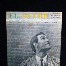 Tauromaquia: REVISTA TAURINA EL RUEDO. TORERO GITANO EL CARACOL. Nº 964 DE 1962. Lote 54032857