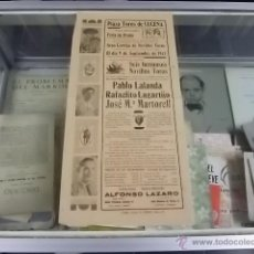 Tauromaquia: 2178.-TAUROMAQUIA-PLAZA DE TOROS DE LUCENA-CARTEL FERIA DE OTOÑO 1947. Lote 54337778