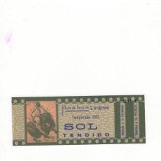 Tauromaquia: ENTRADA DE TOROS, PLAZA DE TOROS DE LINARES, 1963.. Lote 54599926