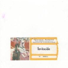 Tauromaquia: ENTRADA DE TOROS, PLAZA DE TOROS DE TAFALLA, 1995.. Lote 54606667