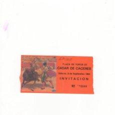 Tauromaquia: ENTRADA DE TOROS, PLAZA DE TOROS DE CASAR DE CACERES, 1994.. Lote 54631202