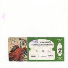 Tauromaquia: ENTRADA DE TOROS, PLAZA DE TOROS DE FUENLABRADA, 1993.. Lote 54648596