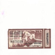 Tauromaquia: ENTRADA DE TOROS, PLAZA DE TOROS DE LA ALGAIDA, 1982.. Lote 54648894