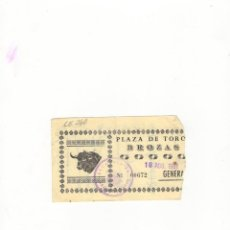 Tauromaquia: ENTRADA DE TOROS, PLAZA DE TOROS DE BROZAS, 1991.. Lote 54649011