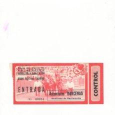 Tauromaquia: ENTRADA DE TOROS, PLAZA DE TOROS DE LA ALGAIDA, 1982.. Lote 54650214