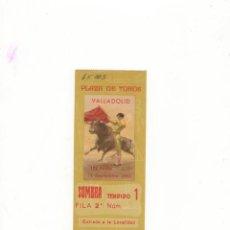 Tauromaquia: ENTRADA DE TOROS, PLAZA DE TOROS DE VALLADOLID, 1963.. Lote 54672323