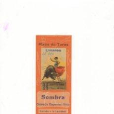 Tauromaquia: ENTRADA DE TOROS, PLAZA DE TOROS DE LINARES, 1965.. Lote 54683023