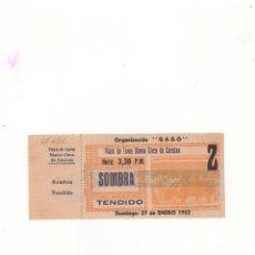 Tauromaquia: ENTRADA DE TOROS, PLAZA DE TOROS NUEVO CIRCO DE CARACAS, 1952.. Lote 54781667