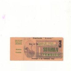 Tauromaquia: ENTRADA DE TOROS, PLAZA DE TOROS NUEVO CIRCO DE CARACAS, 1952.. Lote 54781869