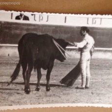 Tauromaquia: FOTO ORIGINAL DEL TORERO EL LITRI EN UNA CORRIDA DE TOROS. Lote 54785199