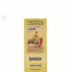 Tauromaquia: ENTRADA DE TOROS, PLAZA DE TOROS LINARES, 1963.. Lote 54786600