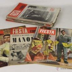 Tauromaquia: 6905 - REVISTA FIESTA ESPAÑOLA 26 EJEMPLARES. VV. AA.(VER DESCRIP). 1963-1967.. Lote 51540614