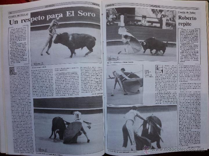 Tauromaquia: REVISTA TOROS 92 AÑO 1988 - 10 NUMEROS EN UN TOMO ENCUADERNADO - Foto 11 - 54911364
